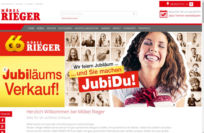 Möbelhaus Webseite