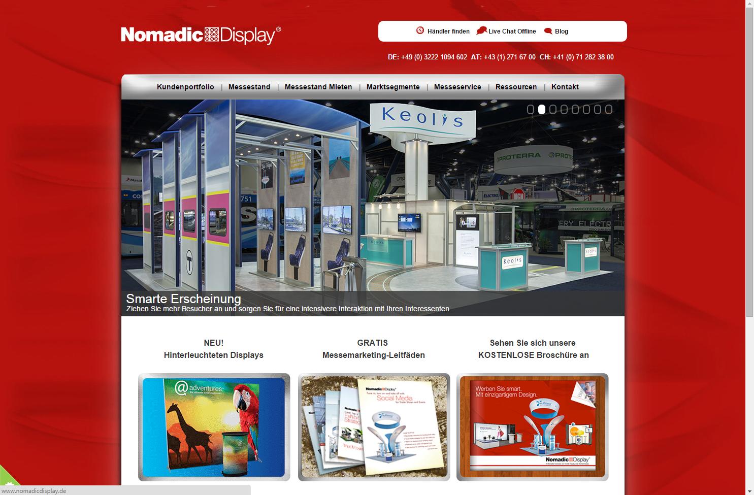 Nomadic Display Startseite
