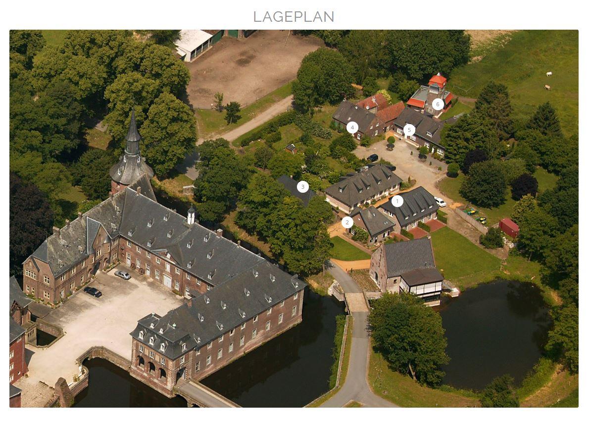 Interaktiver Lageplan von Schloss Wissen