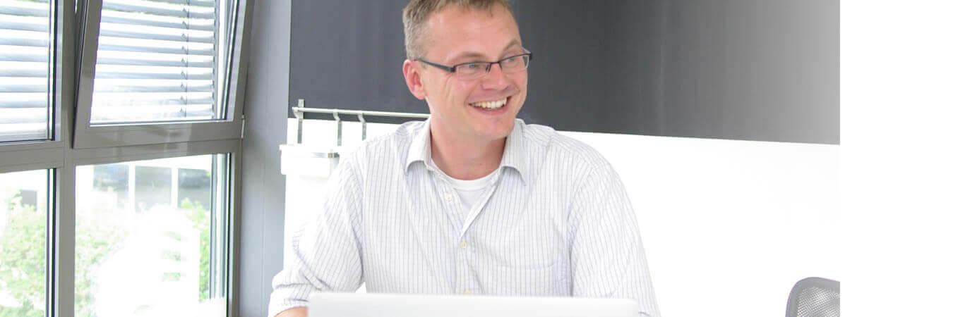 Im Meeting mit Dirk Preuten
