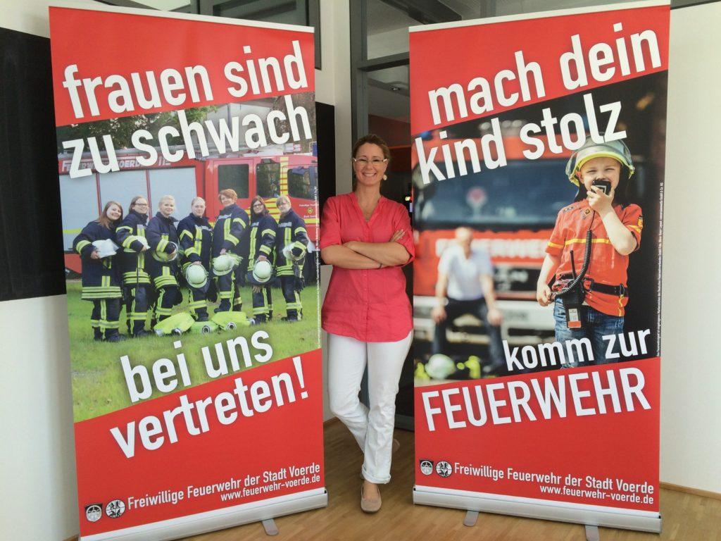 Mitgliederwerbung der Freiwilligen Feuerwehr