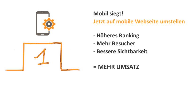 Jetzt auf mobile Webseite umstellen