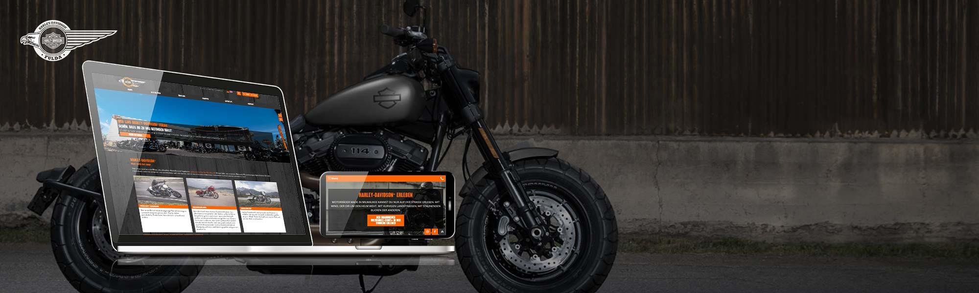 Referenz Harley Davidson Händler in Fulda