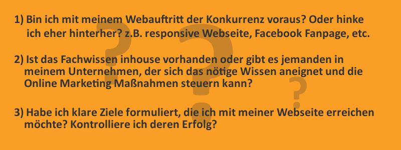 Schnelltest: Brauche ich eine Online Marketing Agentur?