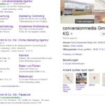 Screenshot Business View
