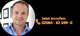 Sascha Krummeich, Geschäftsführung Vertrieb 02064 - 62 599 0